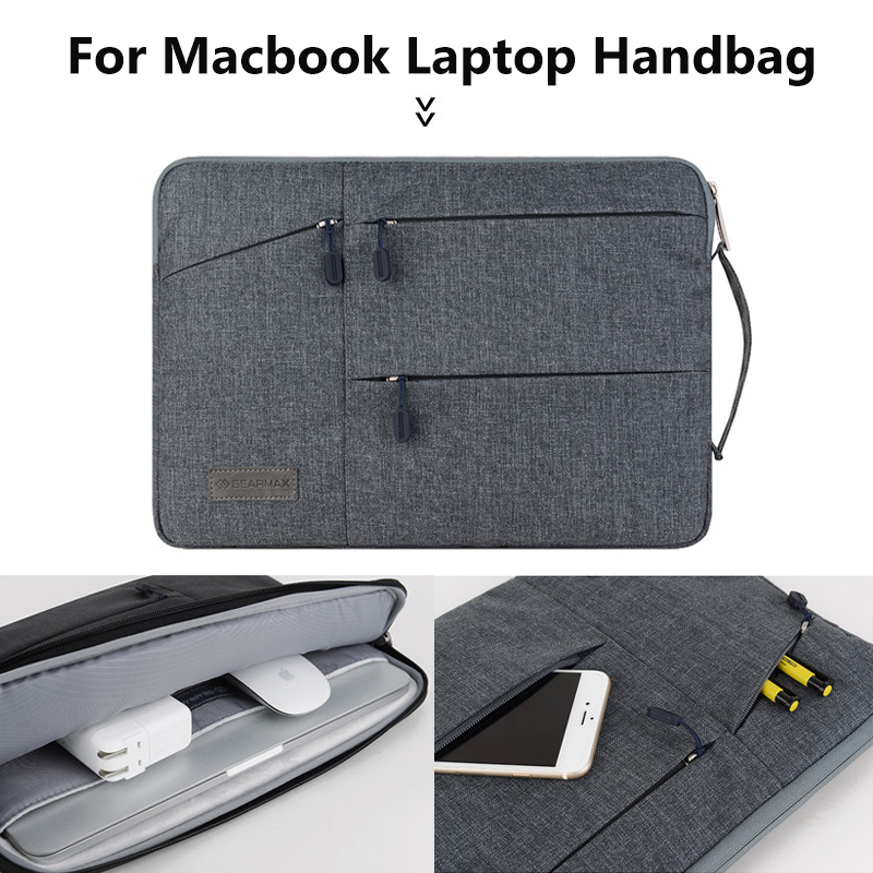 Laptop Bag 13.3 15 inch for macbook air 13 case pro 13 Laptop Sleeve 14 inch for Asus/Dell/Lenovo/Hp/Surface pro 4 15.6 11 inch new laptop bag for macbook pro air 13 case 11 12 13 15 15 6 laptop shoulder bag for asus acer dell hp 14 inch laptop sleeve