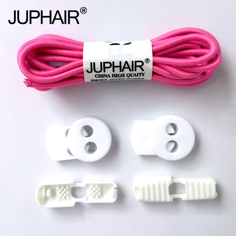JIP1 Pair New Fashion Locking no Tie Lazy Shoelaces Sneakers Elastic Shoelaces Children Safe Elastic Shoe White Shoelaces Buckle danfoss шаровой кран jip ff фланцевый ду 15