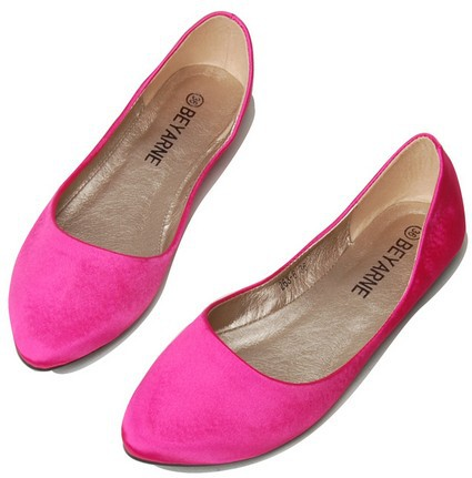 2014 Spring Hot Pink Black Blue Green Luxury Mesh Women Flats Pointed Toe  Candy Color Girls Wedding Ballet Single Shoes SHF31006-in Women s Flats  from Shoes ... 7bcd2f1bf