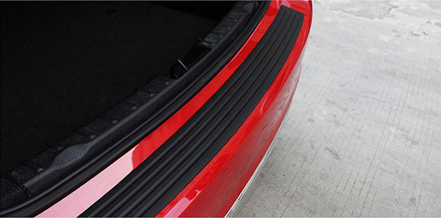 Image 5 - Car Trunk Rubber Bumper Guard Protector Car Accessaries for Volkswagen VW Golf 4 6 7 GTI Tiguan Passat B5 B6 B7 CC-in Car Stickers from Automobiles & Motorcycles