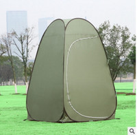 Outdoor camping beach bathroom auto open portable shelter changing room dressing cabin wardrobe bathing shower 1 2 person tent