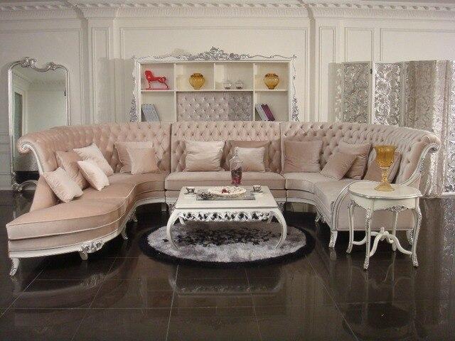 European Style Furniture/fabric Sofa/new Classic Sofa 0402