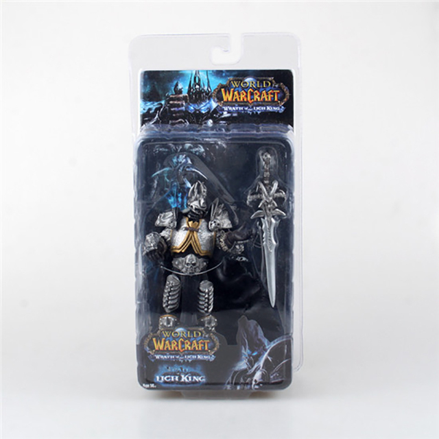 wow Lich King Arthas Death Knight  PVC Action Figure Collectible Model Toy  3
