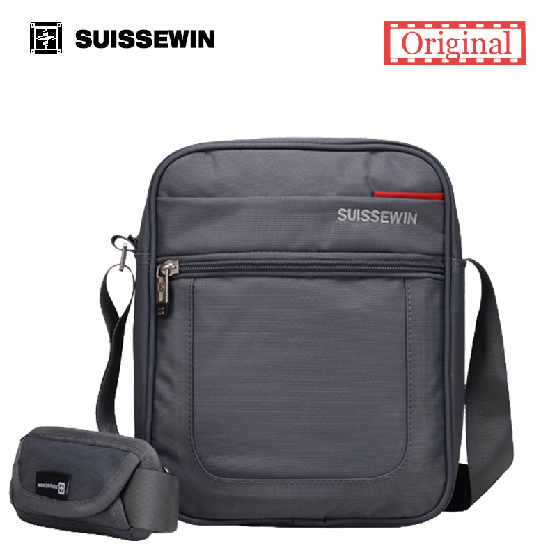 ФОТО Suissewin Brand Messenger Bag Male 11