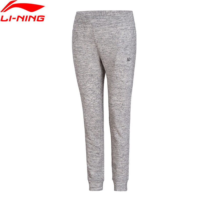 Li-Ning Women The Trend Sports Pants Regular Fit 87% Cotton 13% Polyester LiNing Li Ning Comfort Pants Trousers AKLN004 WKY154