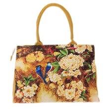 Sacs sacs à main femmes Numérique Impression belle floral toile épaule sacs sac femelle