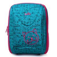 Delune New Girls Boys School Bag High Quality Nylon Fabric Ergonomic Design Children Cartoon Animal Large School Backpack