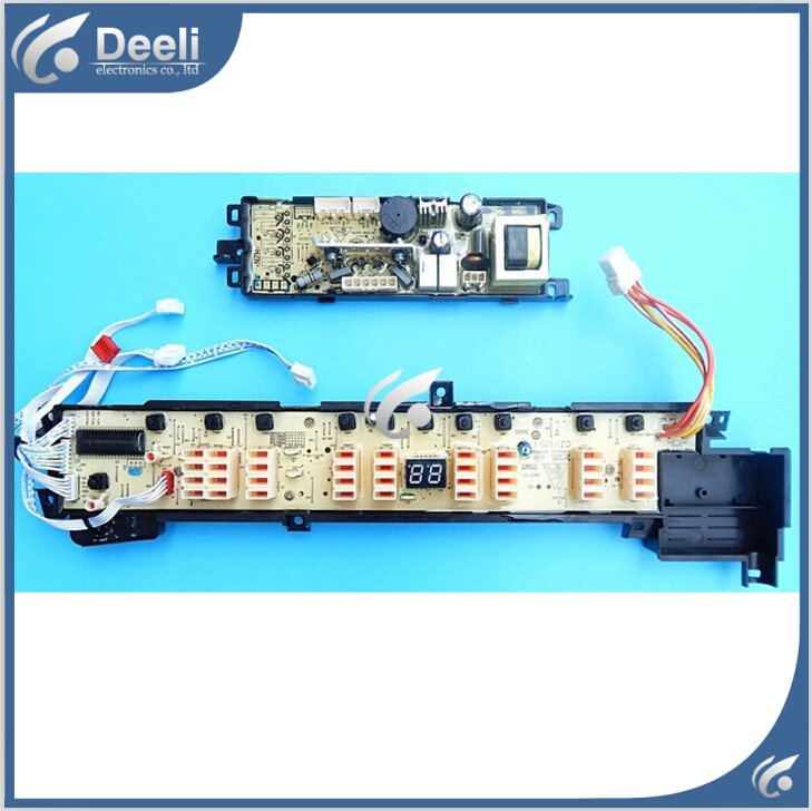 Free shipping 100% tested for washing machines accessories pc board motherboard xqb75-ks828 2pcs/ set on sale free shipping motor controller shua sh 5517 optimal step health treadmill circuit board motherboard running machine accessories