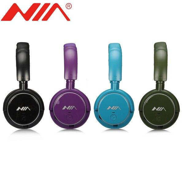 3 Pezzi un set Originale NIA Q1 Stereo Senza Fili Bluetooth Cuffia di Alta  Qualità di 0ed21c845d5b