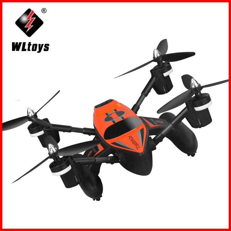 Wltoys q353 rc zangão dron rtf ar terra mar modo headless modo um retorno chave rc quadcopters brinquedos rádio controle zangão com luz
