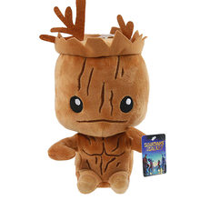 2018 Groot Brinquedos de Pelúcia Ursos de Pelúcia Anime Superhero Guardians Of the Galaxy 20 cm mini Plush Toys Dolls Caçoa o Presente(China)