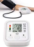 2015 Newest Wholesale Medical Health Care Use Arm Style Blood Pressure Monitor Digital Sphygmomanometer Automatic IHB