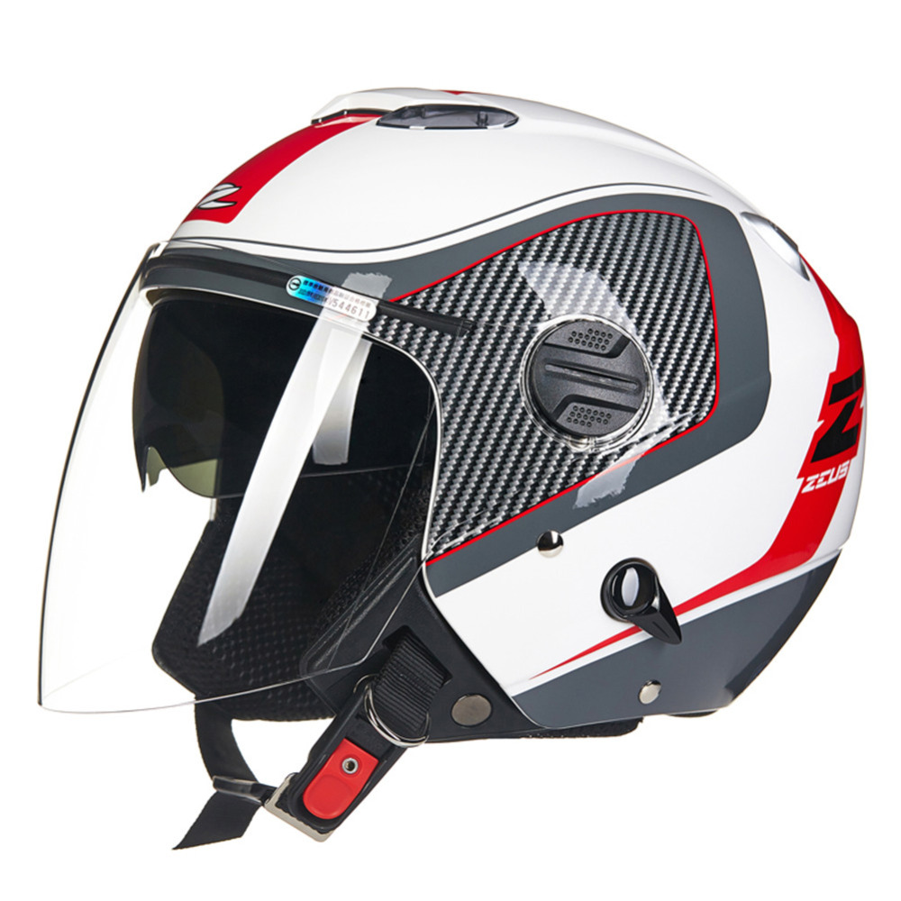 цена на High Quality Motorcycle Helmet Dual Visors Open Face Capacete Da Motocicleta Cascos Para Moto Casque Kask Helm Men Women Helmets
