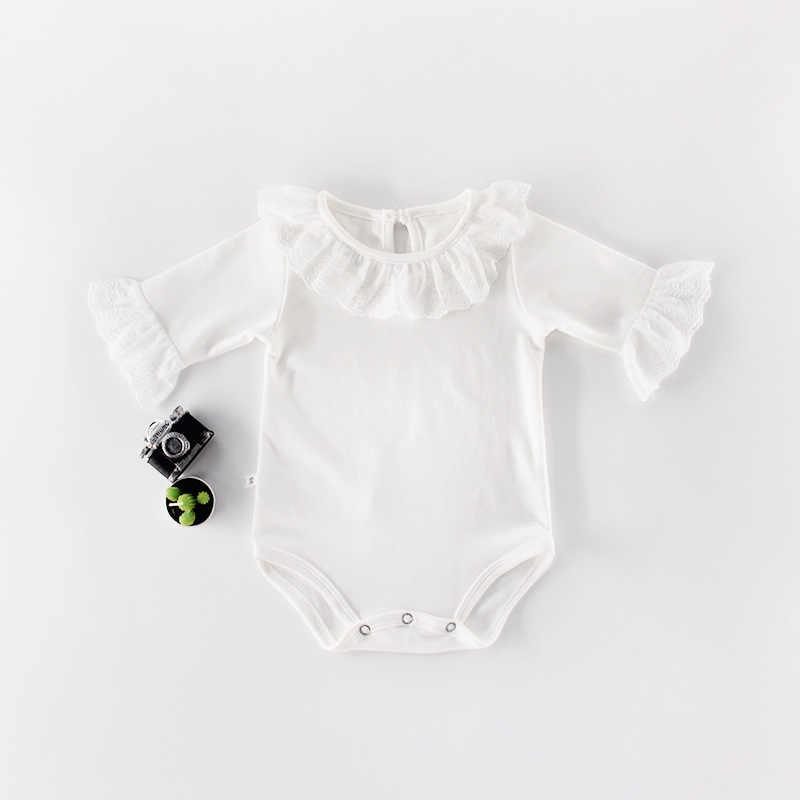 Bé Sơ Sinh Cotton Phối Ren Nữ Tay Công Chúa Đảng Bodysuits Bé Trẻ Sơ Sinh Áo Liền Quần Đùi Bé Gái Tập Đi Cho Trang Phục
