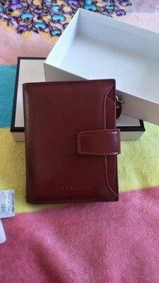 небольшой бумажник женщин; Основной Материал: Сплит Кожа; бумажник женщина; женщины бумажник;