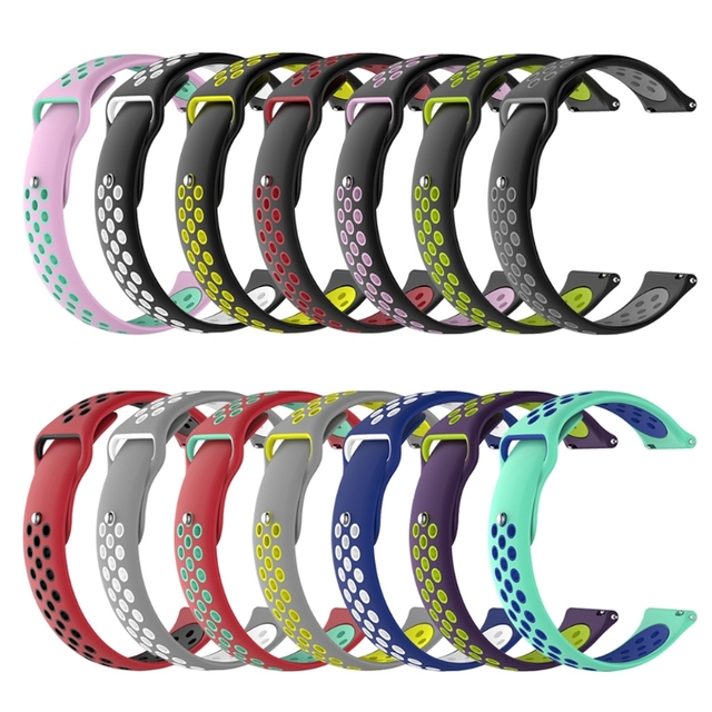 Free delivery 20mm Watch Band Strap for Amazfit Bip Gear S2 Classic Vivoactive 3
