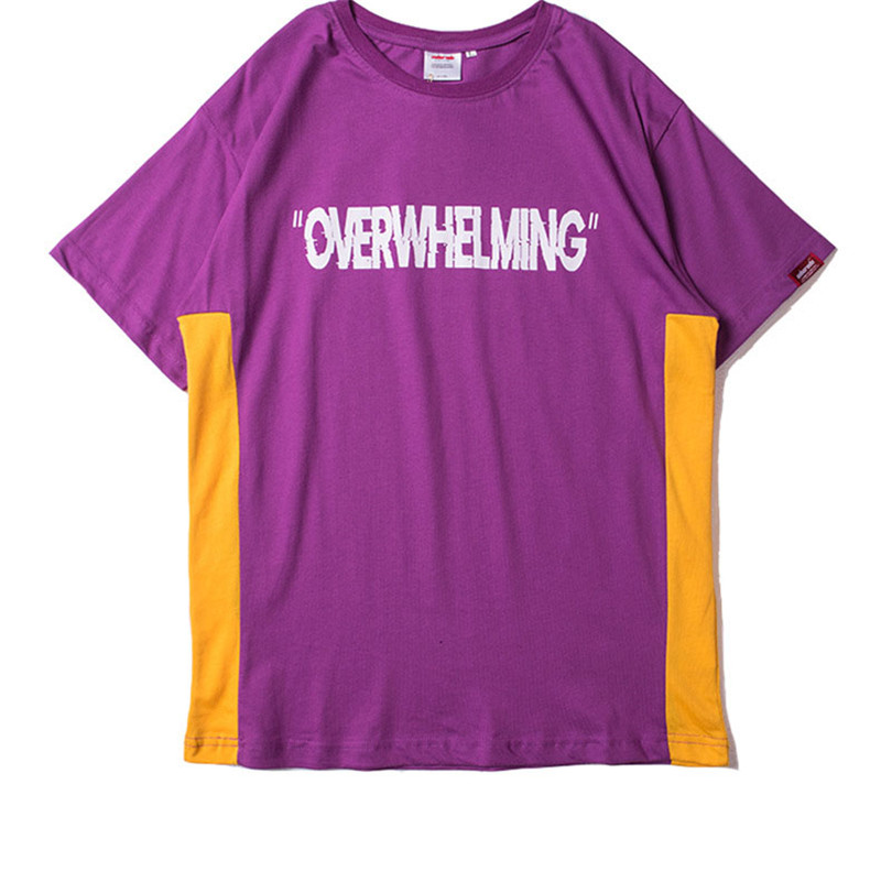 Funny Aesthetic Overwhelming Print Cotton T Shirt for Men Urban Boys Street Wear Hiphop Graphic Short Sleeve Tee Oversized S-XXL 15