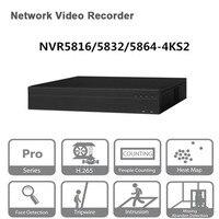 Оригинальный egnlish версия бренд nvr 16/32/64CH сети видео Регистраторы NVR5816 4KS2 NVR5832 4KS2 NVR5864 4KS2 Бесплатная DHL доставка