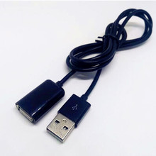 50cm 100cm USB 2.0 Extension Cable Adapter Connector Male to Female Data Sync Cord Cable Cord Wire For PC Laptop Computer
