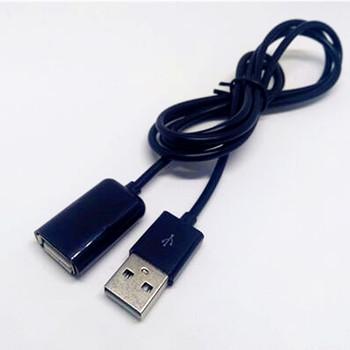 50cm 100cm USB 2 0 przedłużacz kabla złącze adaptera męski na żeński przewód do synchronizacji danych przewód z drutu dla PC laptop tanie i dobre opinie xinmeidongli Komputer Inteligentne Urządzenia Kamera Przechowywania telefonu Mp3 mp4 Standardowy kmj000042 Pakiet 1