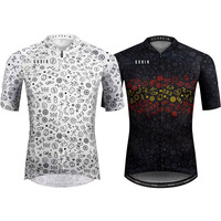 Cycling Jersey 2019 White BLACK Graffiti Pro Team MTB Road Bike Jersey Breathable Quick dry Bicycle Downhill DH Jersey