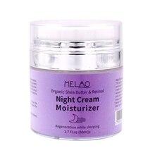 1 шт. высококачественный ночной крем органический ретинол увлажняющий питательный ночной крем гиалуроновая против морщин 50 г