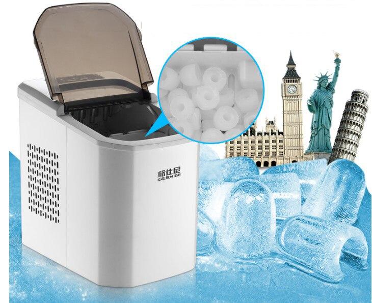Bullet machine à glaçons cube machine pour la maison/commerciale bloc de glace faisant la machine icee machines à vendre