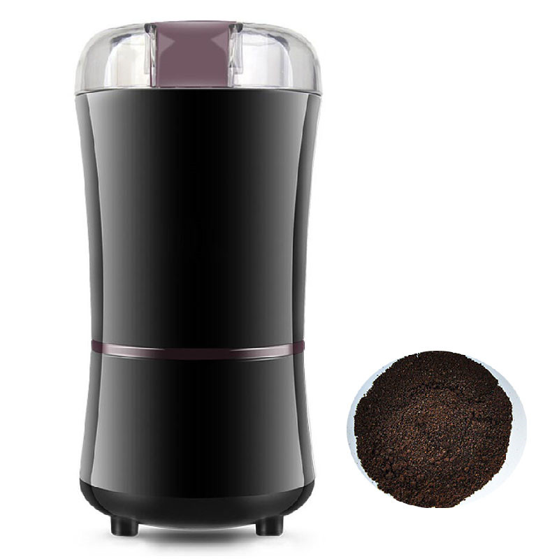 BEIJAMEI Electric Coffee Pepper Grinders Mini Kitchen Powerful Beans Spices Nuts Seeds Coffee Bean Grinding Machine