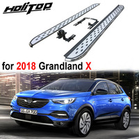New arrival nerf bar side bar foot steps foot board for Opel Grandland X,thicken aluminium alloy,manufacture by famous factory
