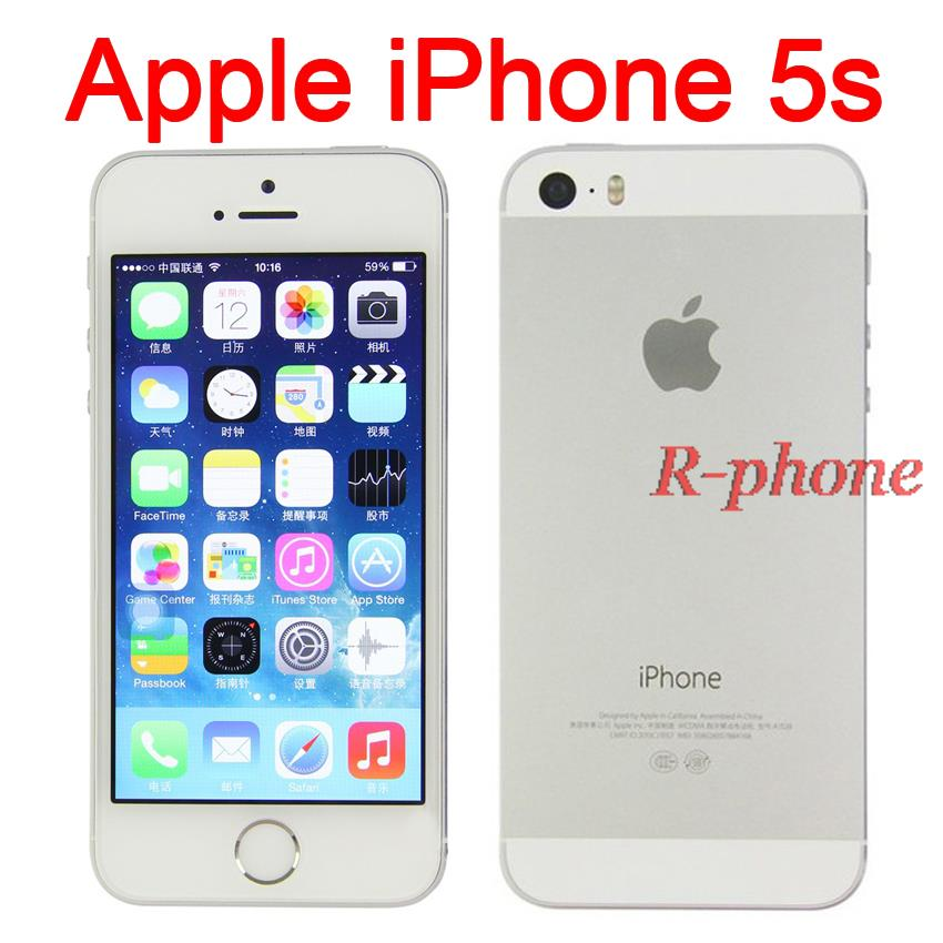 wifi calling iphone 5 original iphone 5s mobile phone dual 4 quot ips 8mp wifi 5031