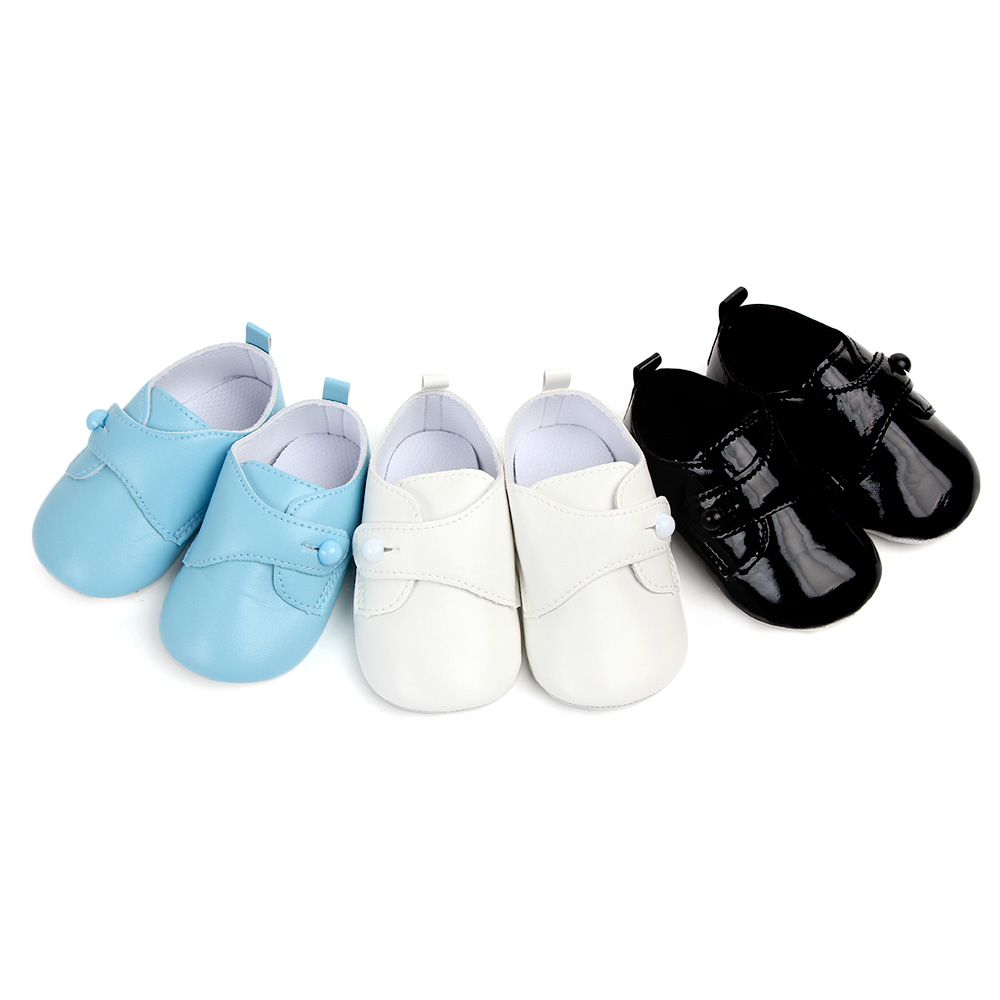 babyshoes made of Pu leather baby moccasin with soft outsole white baby prewalker black infant shoe for 0-18 month baby boy shoebabyshoes made of Pu leather baby moccasin with soft outsole white baby prewalker black infant shoe for 0-18 month baby boy shoe