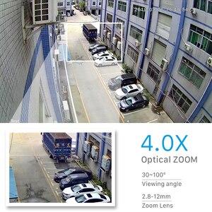 Image 3 - 1080P Wifi IP kamera zewnętrzna dwukierunkowa Audio PTZ 5X Zoom optyczny noktowizor IR 60M bezprzewodowa prędkość bezpieczeństwa kamera kopułkowa P2P