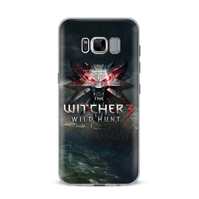 The Witcher 3 Wild Hunt Phone Case Cover For Samsung Galaxy S4 S5 S6 S7 Edge S8 S9 Plus Note 8 3 4 5 A5 A7 J5 2016 J7 2017