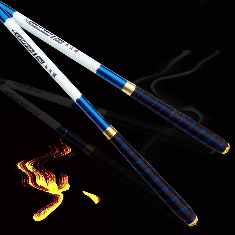 2pcs/lot Carbon Fiber Taiwan Fishing Rod Fishing Pole Power XH Super Light Anti-locking 3.6/4.5/5.4/6.3/7.2 M Fishing Tackle [sa]takenaka frs2053 fiber line genuine 2pcs lot