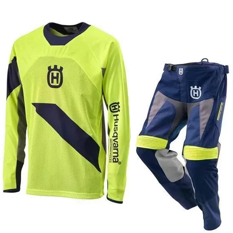 Husqvarna Motorcycle mountain bike bmx racing suit mx pants karting protection outdoor sport cycling dh gp off road mx motocross