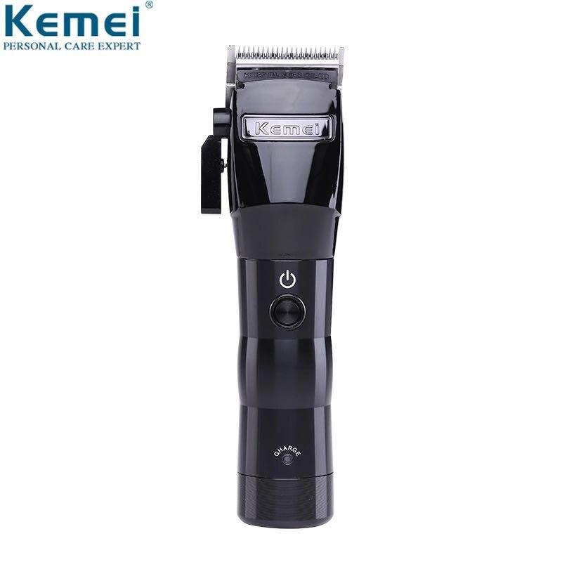 Tondeuse à cheveux Salon de coiffure professionnel tondeuse à cheveux Rechargeable électrique coupe-cheveux rasage Machine rasoir KM-2580