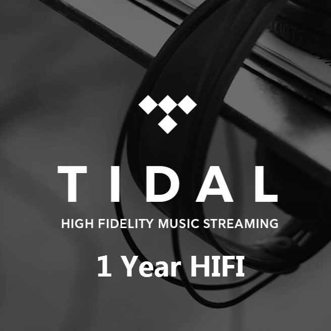 1 Year Tidal HIFI Music Disco DJ Subscription Account Support Android IOS Windows MA TV BOX