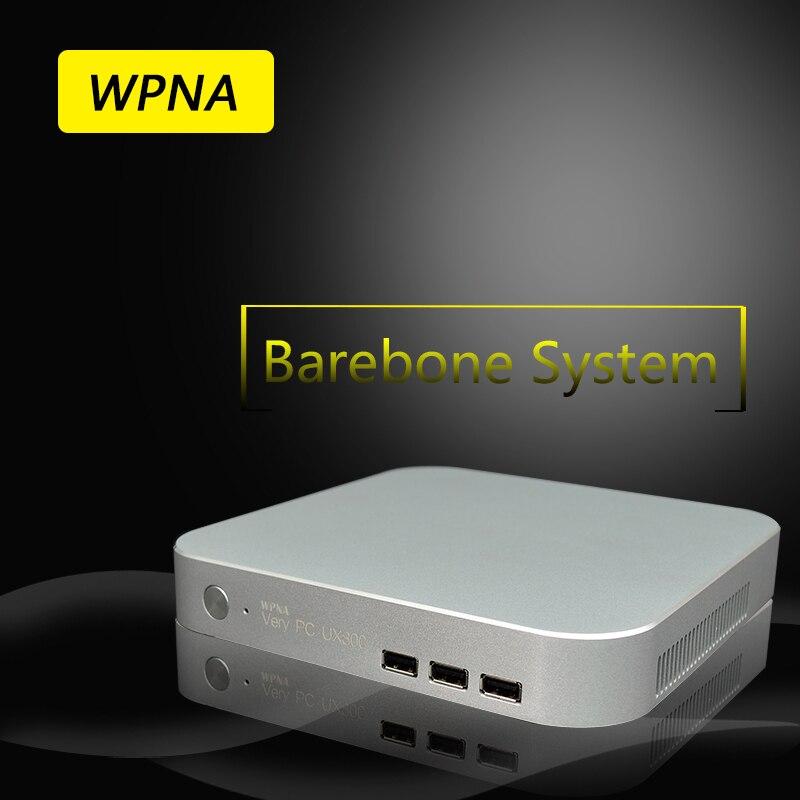 T5 WPNA Micro Nettop HTPC Barebone Intel Core i7 HD Graphics 300 M WIFI mini pc