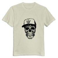 Short Sleeve Skull Urban Men T Shirt Design Slim Fit Man S T Shirts