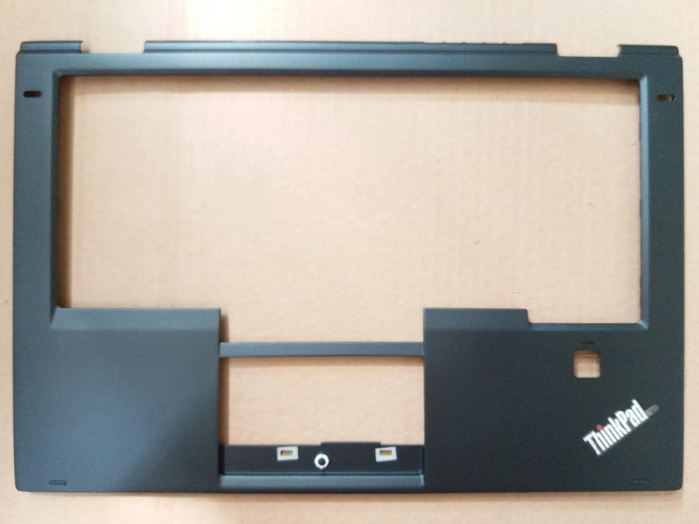 New Original for Lenovo ThinkPad X1 Yoga Palmrest Keyboard Bezel Cover with Fingerprint Hole 460.04P02.0004 SB30K59264 00JT863 brand new for lenovo for ibm for thinkpad yoga 11e palmrest c shell