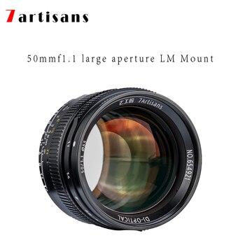 7 artisans 50mm f1.1 Paraxial LM mount large aperture portrait lens for Leica cameras M-M, M240, M3, M5, M6, M7, M8, M9, M9P,M10