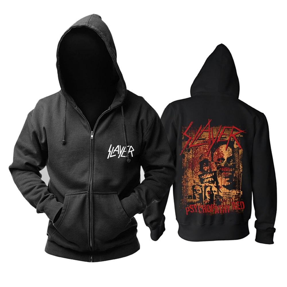 Bande de tueur de sang Heavy Metal vitesse métal mode noir top mucis capuche taille asiatique-in Sweats à capuche et sweat-shirts from Vêtements homme    3