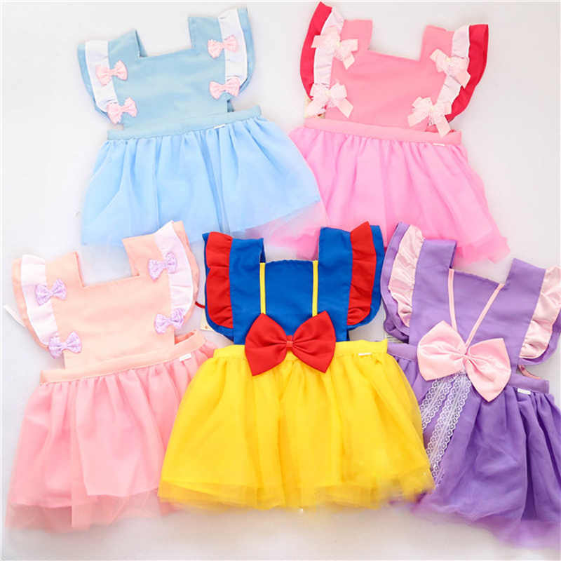 Waterproof Dress Children Apron pinafore Feeding Smock Kids Eating Breastplate Baby Clothing Toddler Draw Antifouling Sleeveless