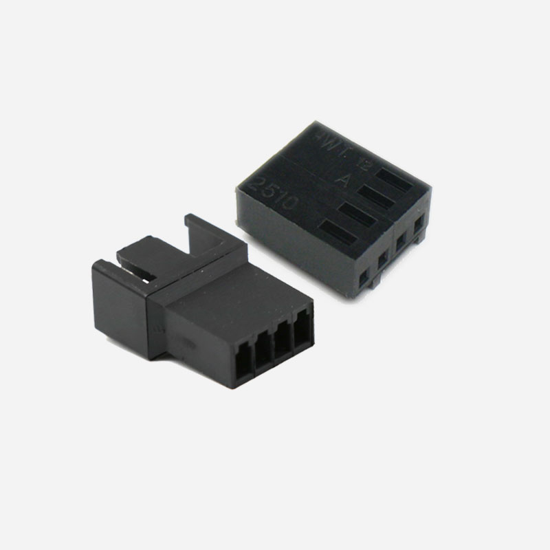 Angitu 2510 2540 3pin/4pin PWM Male Female Fan Connector Housing With 3pcs/4pcs Free Terminals