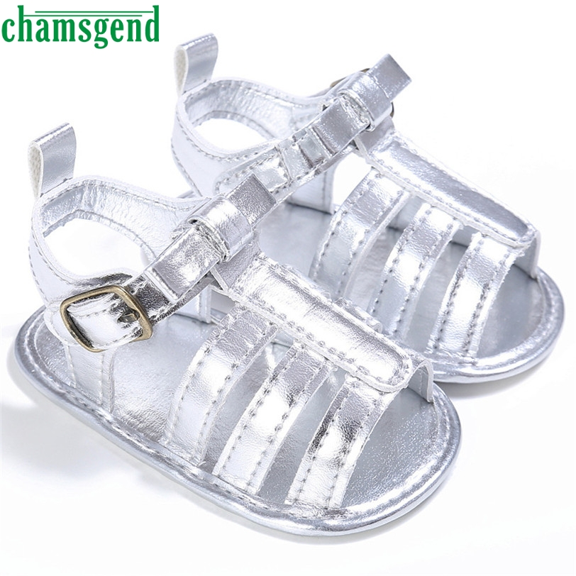 CHAMSGEND Best Seller drop ship Baby Toddler Girls Cute Crib Shoes T-tied Soft Prewalker ...