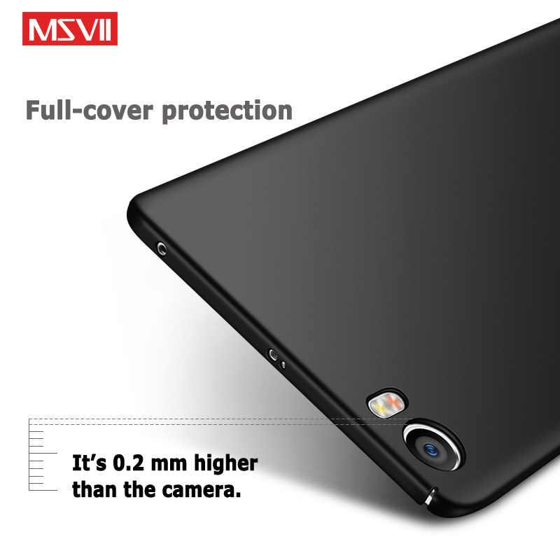 Voor Xiaomi Mi 5 S Case Msvii Silm Matte Cover Voor Xiaomi Mi 5 S Case Xiomi M5 5 S hard Cover Voor Xiaomi Mi 5 S Mi5 S Mi5S Case