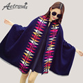 [AETRENDS] 2016 New Winter Two Sides Warm Thicken Striped Shawls and Scarves for Women Cashmere Scarf Wraps Z-3415