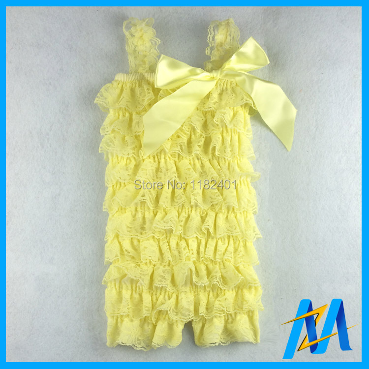 192abec5da1 1Pcs On Sale! Retail Baby Lace Petti Romper Solid Color Girls ...
