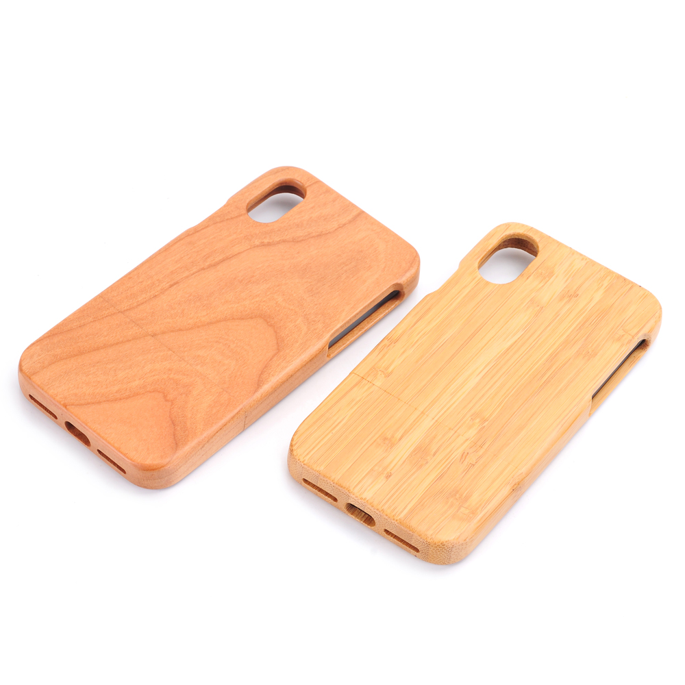 HTB1WtOubsnI8KJjSsziq6z8QpXap Natural Green Real Wood Wooden Bamboo Case For iPhone XS Max XR X 8 7 6 6S Plus 5 5S SE Case Cover Phone Shell Skin Bag