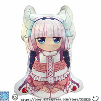 Nuova Venuta 1 Pz 50 Cm Kobayashi-san Chi no Cameriera Dragon Cartoon Personaggi Anime sexy girl kanna kamui cuscino Indoorsman Regalo